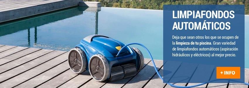 Limpiafondos Automáticos para piscina al mejor precio